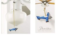Giftcraft Airplane Ceiling Fan Pull, Blue - Walmart.com
