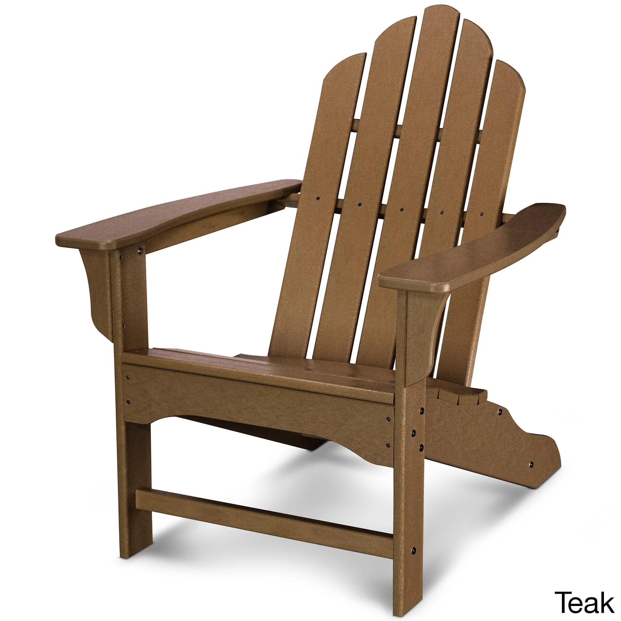 Polywood Kahala Adirondack Chair  Walmartcom