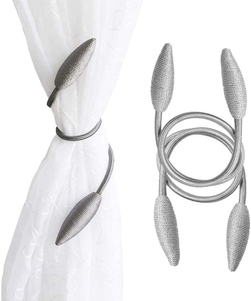 2pcs curtain tiebacks grey curtain ties modern curtain holdbacks creative curtain tie backs for drapes home deocr draperies