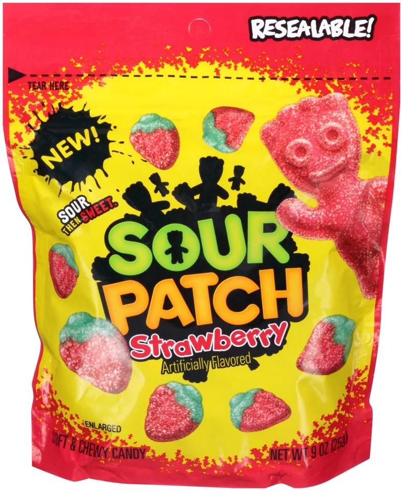 sour patch strawberry soft
