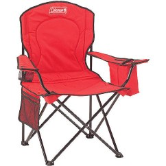 Coleman Cooler Quad Chair Target Eames Dining Replica Oversized With Pouch Walmart Com Take An Interactive Tour