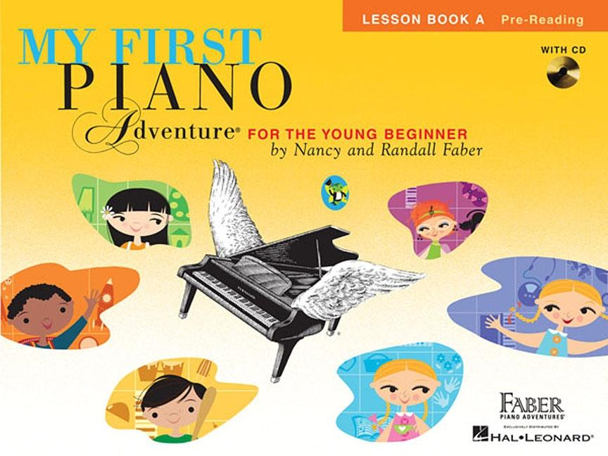 My First Piano Adventure, Lesson Book A, Pre-Reading: For the Young Beginner (Other)