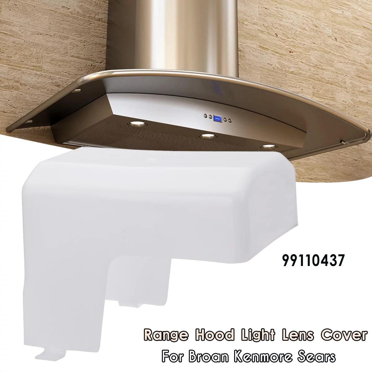 range hood light lens cover genuine nutone broan oem light lens cover for range vent hood walmart com
