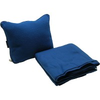 Protege Pillow and Blanket Travel Comfort Set, Blue ...