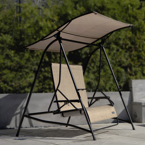Cloud 9 Outdoor 2Person Reclining Lounge Swing with