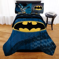 Batman Kids Bedding Set Bed In A Bag Full Reversible ...