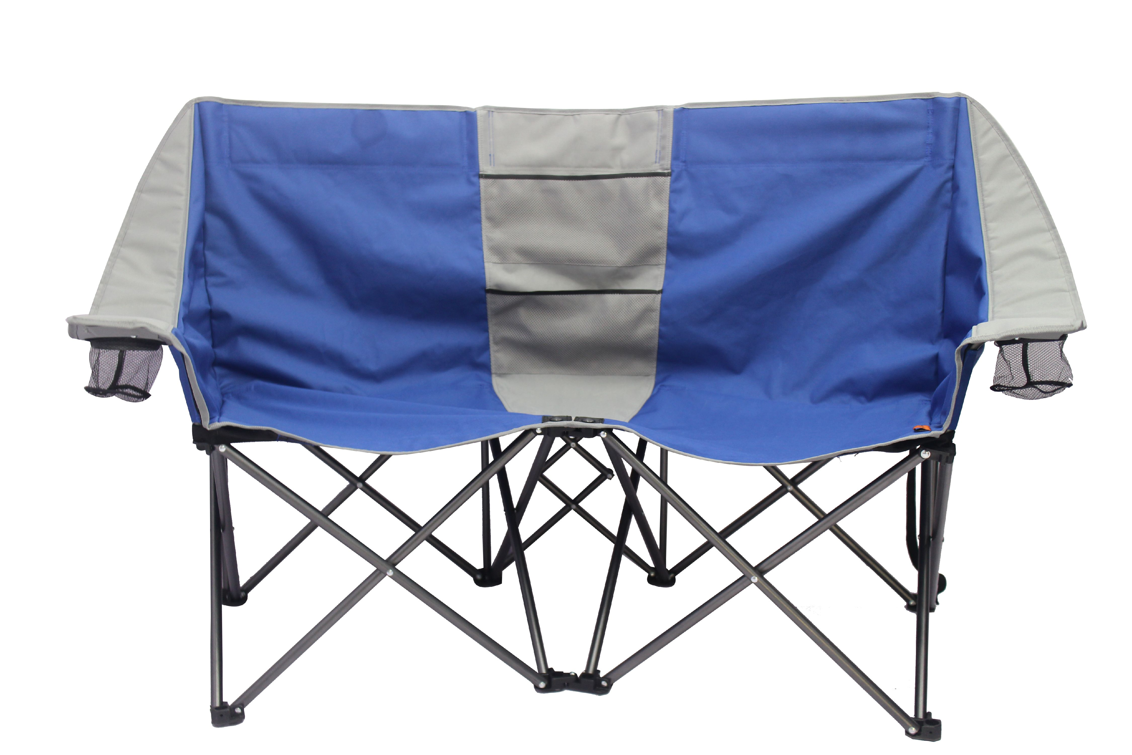 2 person camping chair steel buy online ozark trail loveseat conversation hiking details