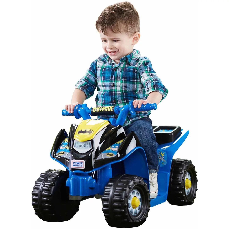 Power Wheels Batman Lil Quad Ride On Walmart