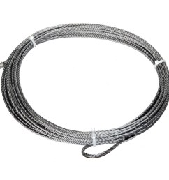 warn 15276 wire rope 5 16 in x 80 ft for winch models m6000 m8000 walmart com [ 1500 x 1500 Pixel ]