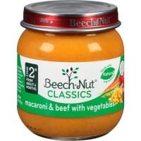 Beech Nut Beech Nut Macaroni & Beef with Vegetables, 4 oz ...