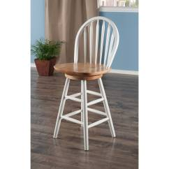 24 Inch Counter Chairs Perfect Posture Ashby Stools Set Of 2 Walnut Walmart Com
