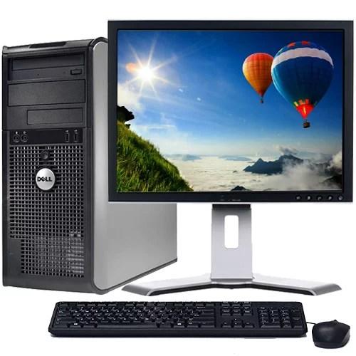 Dell Optiplex Desktop Computer Bundle Windows 10 Intel