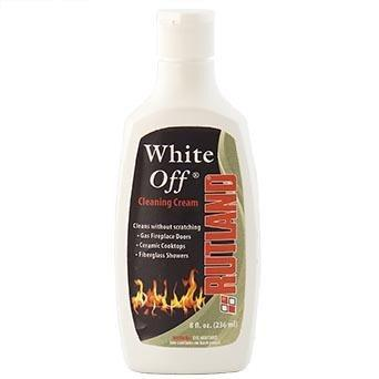 Fireplace Maintenance Rutland White Off Glass Cleaner 8 OZ