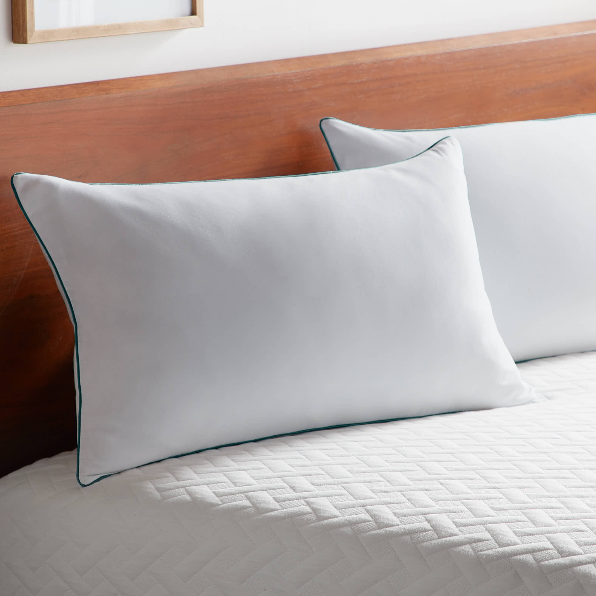 details about rest haven shredded memory foam pillow standard size 2 pack new free ship
