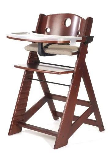 keekaroo high chair big joe chairs at target height right with tray mahogany walmart com