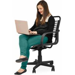 Bungee Office Chairs Chair Covers Queens Ny Your Zone Multiple Colors Walmart Com