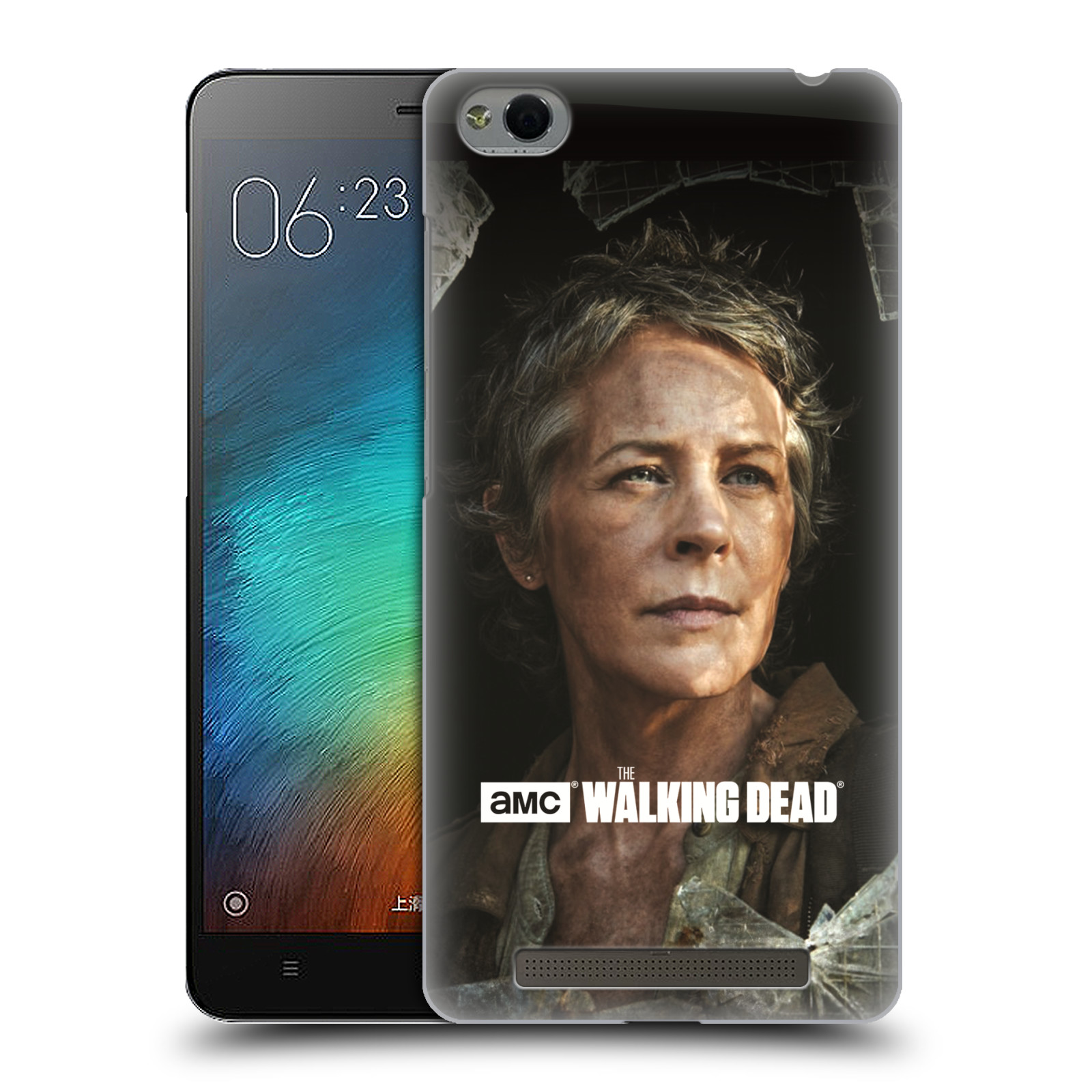 hight resolution of official amc the walking dead filter character hard back case for xiaomi phones
