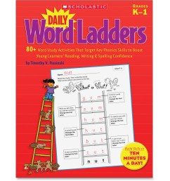 Daily Word Ladders Worksheets   Printable Worksheets and Activities for  Teachers [ 2889 x 2889 Pixel ]