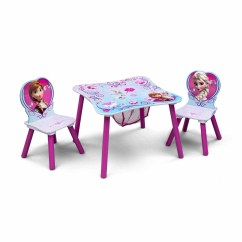 Kids Chair Set White Folding Chairs For Weddings Frozen Toddler Table And With Storage Walmart Com