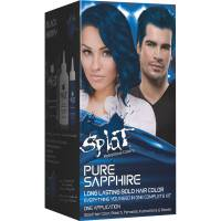 Splat 30 Wash Semi Permanent Hair Dye Kit, Pure Sapphire ...