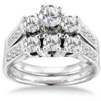 Keepsake Royal 1-1/2 Carat T.W. Certified Diamond 14kt ...