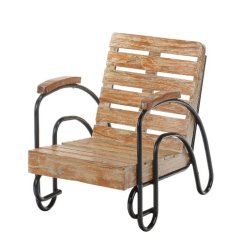 Patio Lounge Chairs Walmart Rent Tables And For Party Harriet Bee Coeburn Wood Slat Chair Com