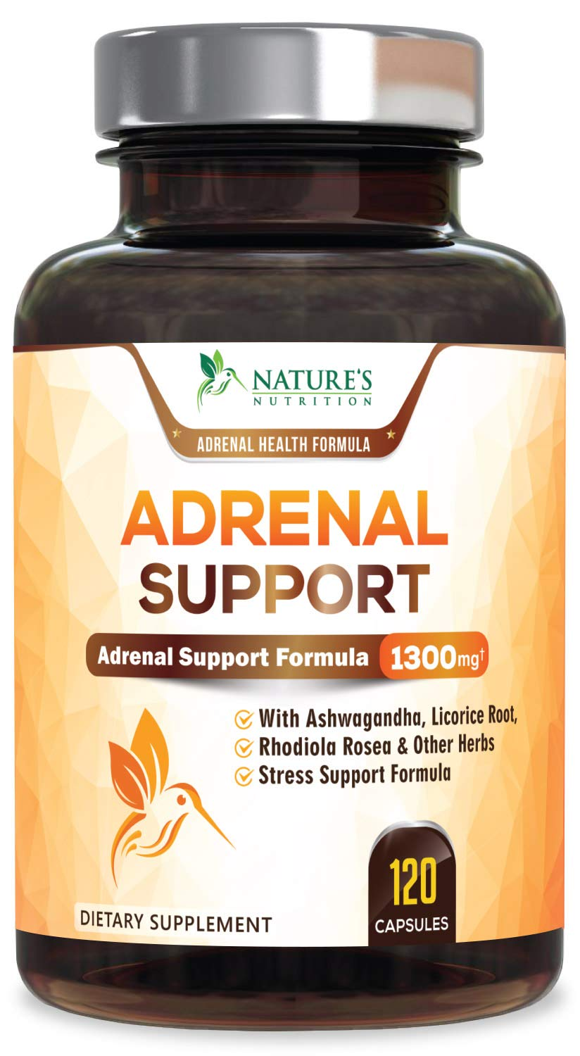Nature's Nutrition Adrenal Support & Cortisol Manager ...