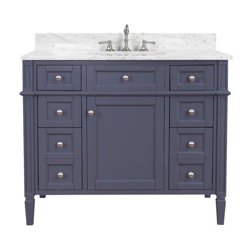 Kitchen Bath Collection Hailey 42 Single Bathroom Vanity