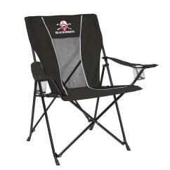 Big Folding Chairs Power Chair Cost University Of Nebraska Blackshirts Corn Huskers Game Time Boy Tailgate Walmart Com