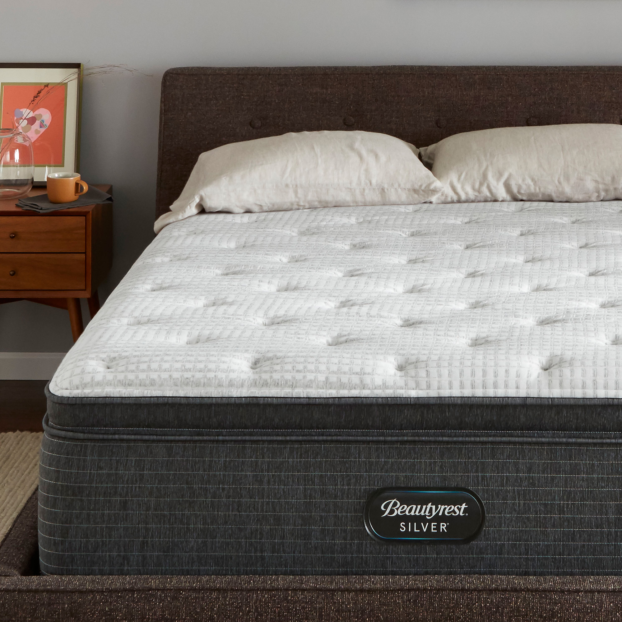 beautyrest silver brs900 c medium pillow top king mattress
