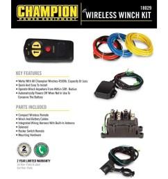 champion 18029 wireless winch remote control kit for 5000 lb or less atv utv winches walmart com [ 1000 x 1000 Pixel ]