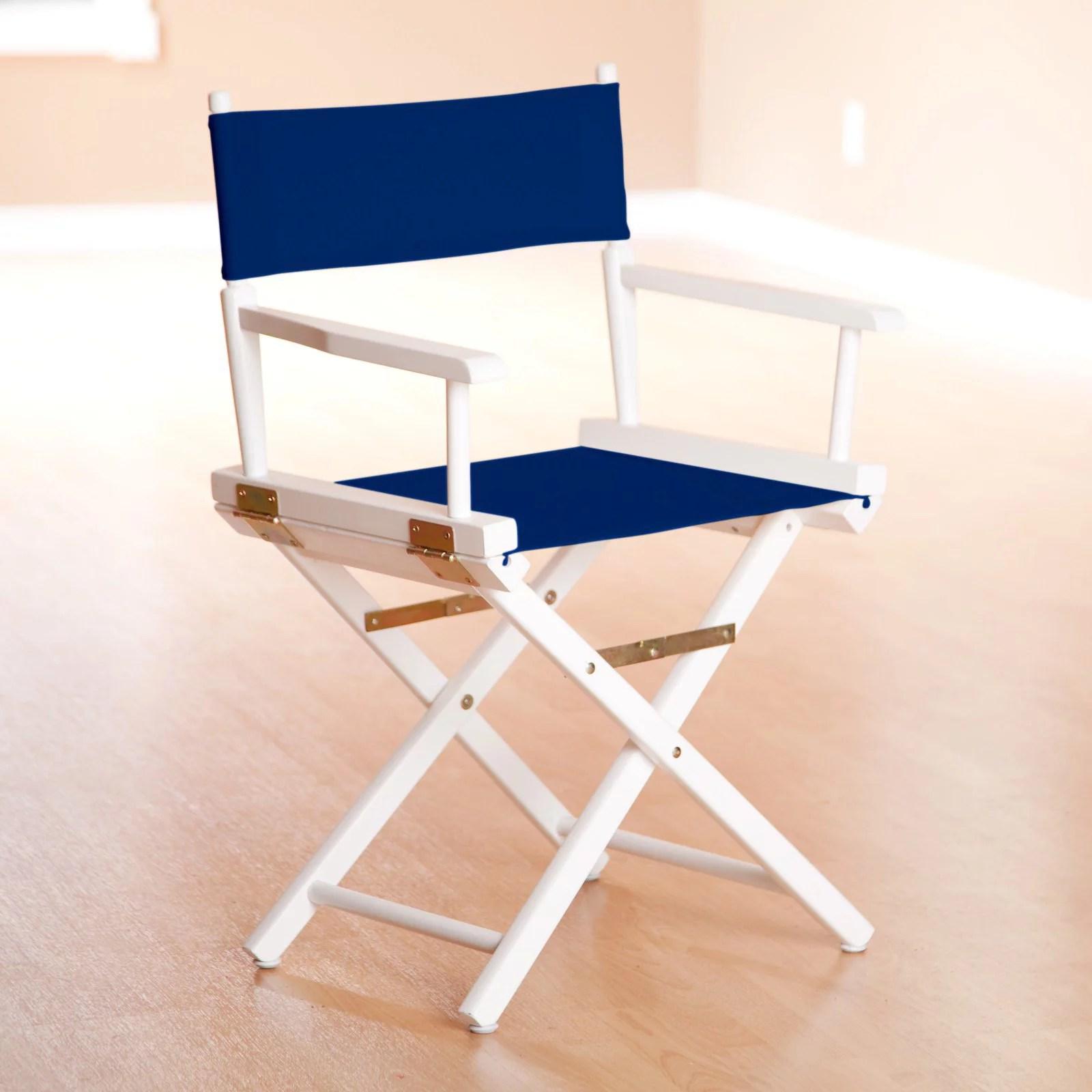 directors chair white sweet 16 throne 18 director s frame green canvas walmart com