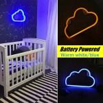 Led Neon Sign Night Light Cloud Wall Lamp Home Kids Bedroom Baby Room Walmart Canada