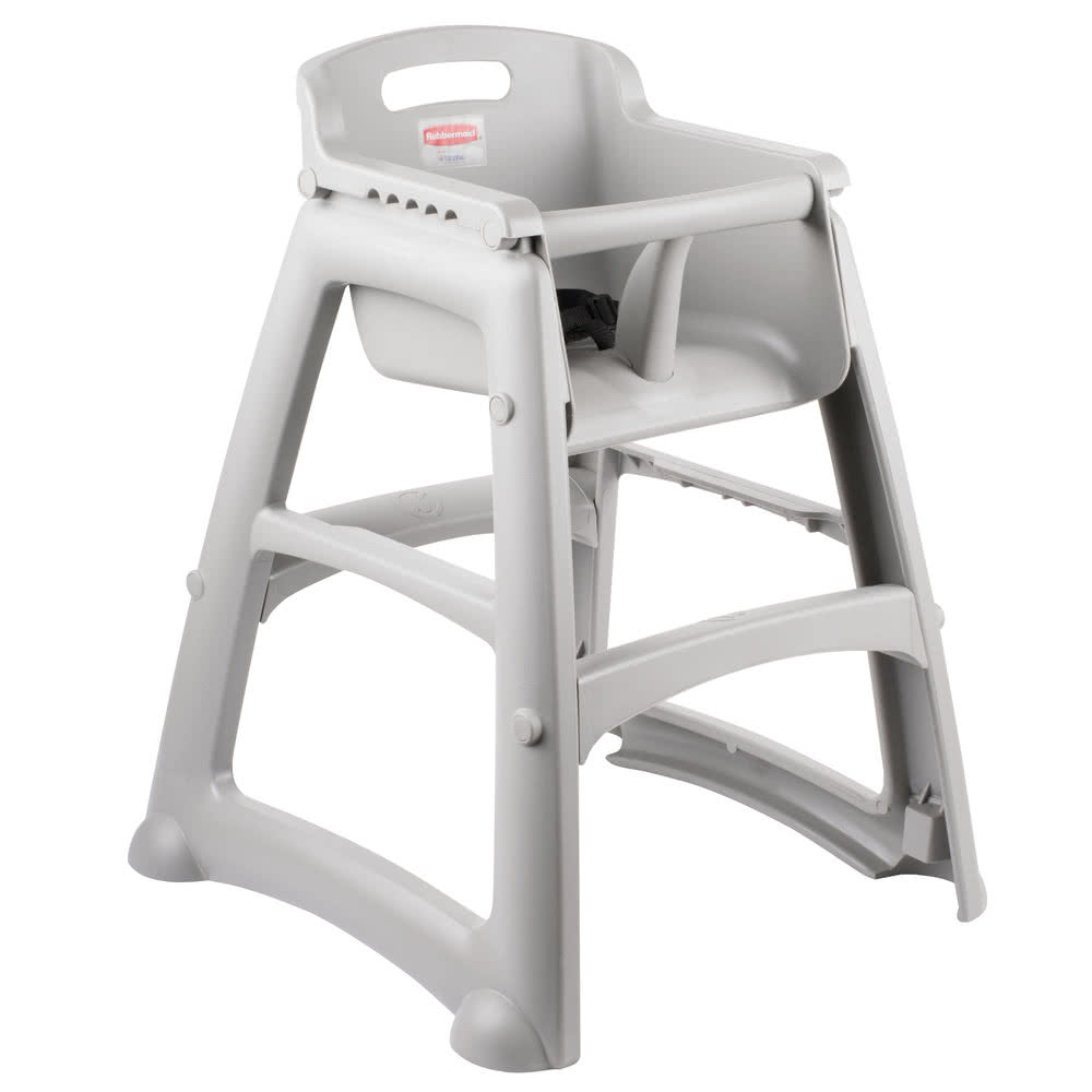 high chair restaurant simply bows and covers newcastle tabletop king fg781408plat platinum sturdy departments