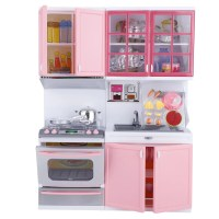PANDAIN Mini Kitchen Play Set Pretend Role Play Plastic ...