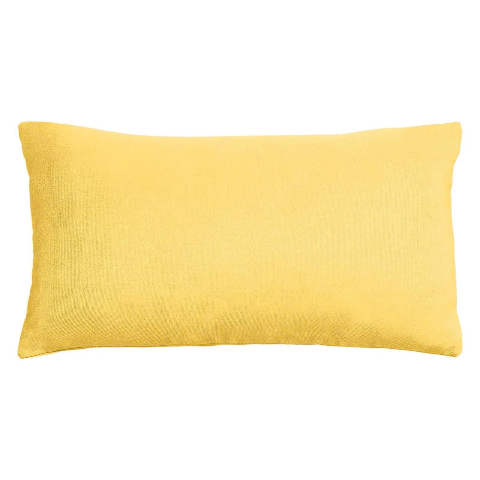 cushion source 20 x 12 in solid sunbrella indoor outdoor lumbar pillow