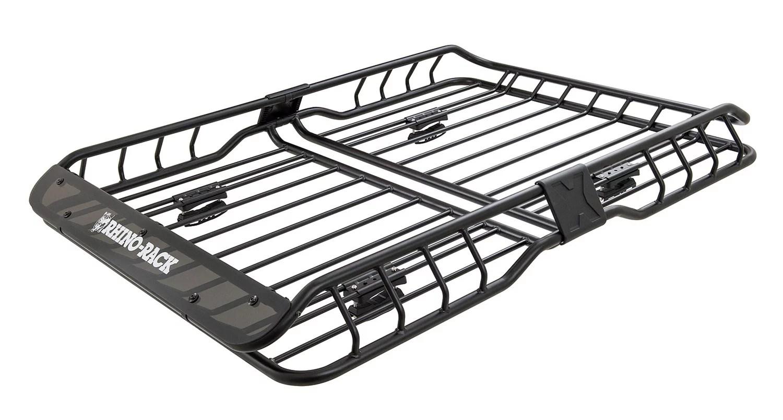 rhino rack usa rmcb02 roof mount cargo basket walmart com