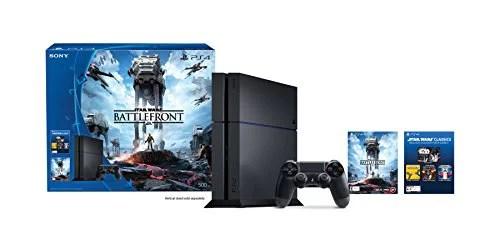 Playstation 4 500gb Console Star Wars Battlefront Bundle