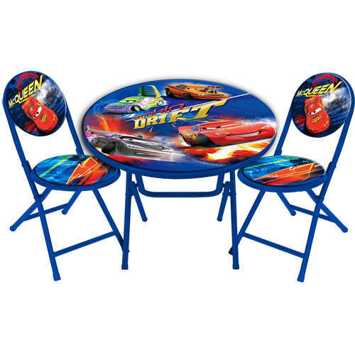 Disney Cars Round Table and Chair Set  Walmartcom