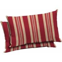 Mainstays Outdoor Patio Lumbar Pillow, S - Walmart.com
