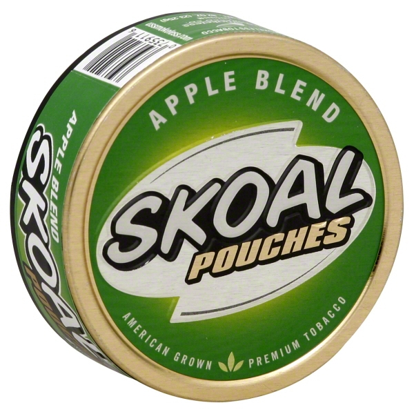 skoal apple blend pouches