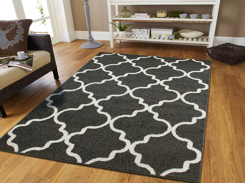 dark gray living room rug small apartment interior design area rugs for 5x8 modern walmart com