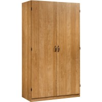 Sauder Beginnings Wardrobe and Storage Cabinet, Highland ...