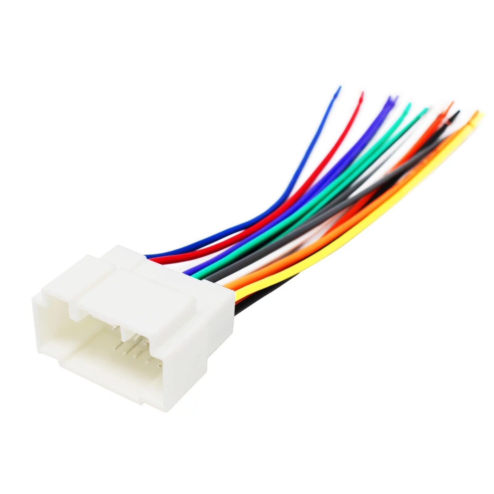 replacement radio wiring harness for 2001 honda civic 2002 honda 2006 honda civic wiring harness [ 1600 x 1600 Pixel ]