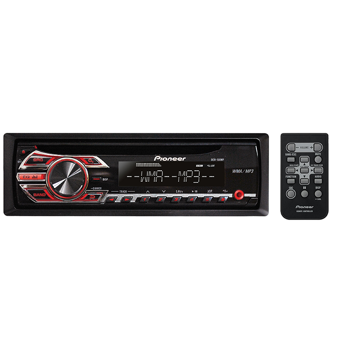 pioneer deh electrical ladder diagram software 150mp single din in dash cd receiver with mp3 playback and front aux walmart com