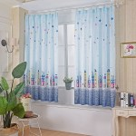 2020 Cartoon Curtains Blackout Curtains For Kids Girls Bedroom Living Room Fun Multicolored Kids Room Curtain For Boys Girls Walmart Canada