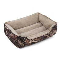 "Soft Spot Bolster Pet Bed, Camo, 36"" x 27"" - Walmart.com"
