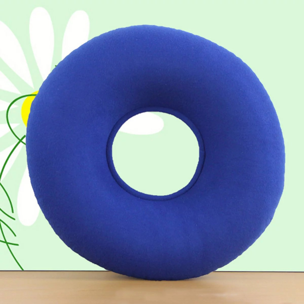 14 donut ring pillow medical home inflatable seat cushion foldable for tailbone pain relief hemorrhoid treatment bed sores lumbar