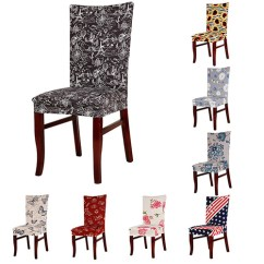 Party Chair Covers Walmart Tall Kitchen Table And Chairs Girl12queen Elastic Flower Hotel Home Dining Room Wedding Banquet Seat Cover Com