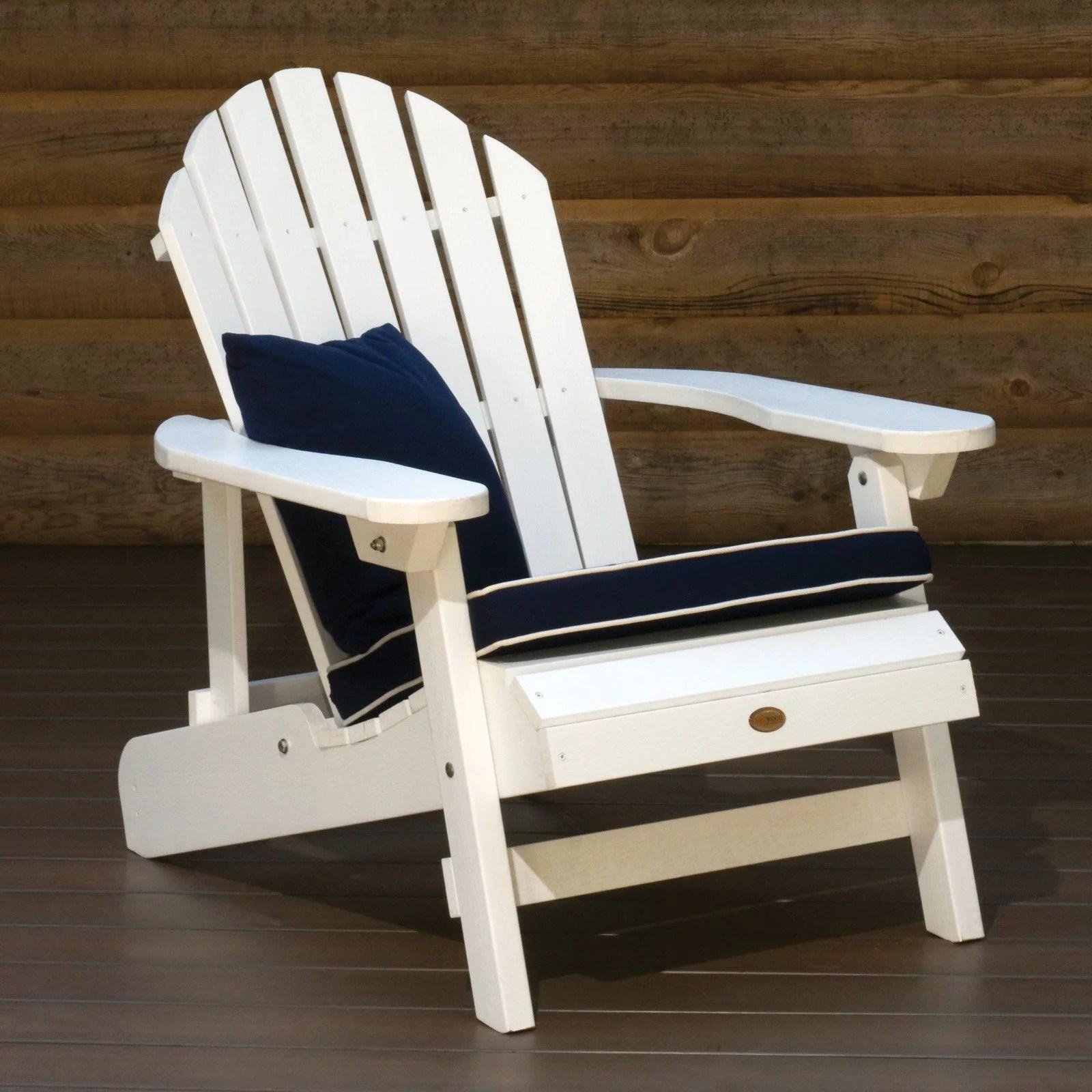 Highwood Hamilton Folding  Reclining Adirondack Chair
